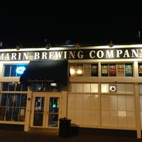 Photo taken at Marin Brewing Company by Mike H. on 2/8/2013