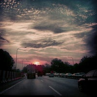 Photo taken at Lebuhraya Damansara-Puchong (LDP) by Sue M. on 3/14/2013