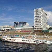 Photo taken at Samara River Terminal by ultravioleth on 6/12/2013