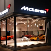Photo taken at McLaren Auto Gallery Beverly Hills by Sebastian S. on 4/28/2014