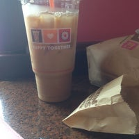 Photo taken at Dunkin Donuts by Beverly B. on 7/1/2014