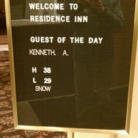 Photo taken at Marriott Residence Inn by Ken A. on 1/20/2013