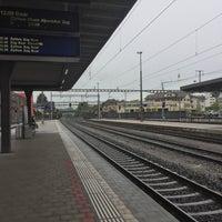 Photo taken at Bahnhof Rotkreuz by Ramon M. on 5/1/2017