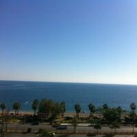 Photo taken at Konyaaltı by Erhan K. on 11/14/2012