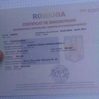 Photo taken at Oficiul Român pentru Imigrări by Florian Thomas D. on 7/20/2016