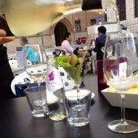 Photo taken at Cafè de Paris by Kristine G. on 4/8/2014