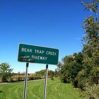 Photo taken at Bear Trap Creek Bikeway by Theresa S. on 9/29/2013