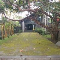 Photo taken at Selasar Sunaryo Art Space by Azka S. on 12/13/2016