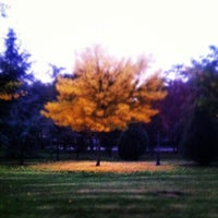 Photo taken at Parque del Oeste by eladio P. on 10/25/2012