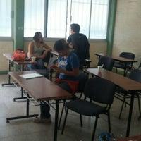 Photo taken at Facultad de Letras y Comunicación by Mau F. on 12/1/2015