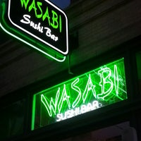 Photo taken at Wasabi Sushi Bar by Matthew M. on 3/23/2013