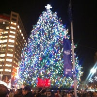 Photo taken at Campus Martius by Jason S. on 11/17/2012
