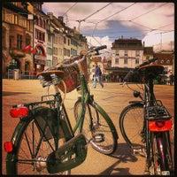 Photo taken at Basel by Alena K. on 5/12/2013