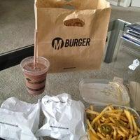 Photo taken at M Burger by Joe H. on 3/10/2013