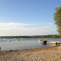 Photo taken at Fish Creek Beach by Meghan on 7/19/2013