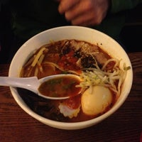 Photo taken at Nom Nom Ramen by Ted C. on 1/13/2013