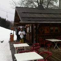 Photo taken at Creperie Le Rocher by Helen H. on 1/1/2013