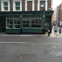 Photo Taken At Chiswell Street Dining Rooms By Helen H On 5 17