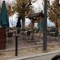 Photo taken at Thonon-les-Bains by Helen H. on 11/11/2017