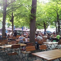 Photo taken at Königlicher Hirschgarten by Nobuya K. on 6/7/2013