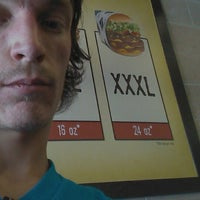 Photo taken at Fatburger by Topher F. on 6/7/2014