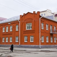 Photo taken at Двухэтажное кирпичное здание стиля «Модерн» by Андрей В. on 12/3/2014