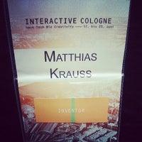 Das Foto wurde bei Interactive Cologne von Jan K. am 6/19/2013 aufgenommen