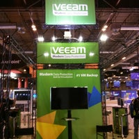Photo taken at Veeam Booth G2 TechEd EMEA #TEE13 by Doug H. on 6/24/2013