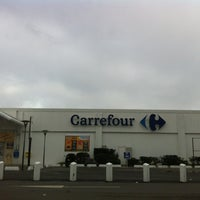 Photo taken at Carrefour by Emilie M. on 12/9/2012