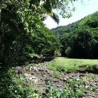 Photo taken at Waimea Valley Adventure Park by Genivieve C. on 9/22/2012