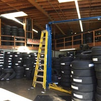 Photo taken at Allen Tire Company by Salvador F. on 12/28/2016