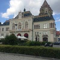 Photo taken at Hauptplatz Korneuburg by Karol G. on 8/7/2016