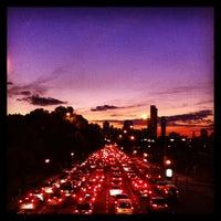 Photo taken at Abajo del Puente Av Figueroa Alcorta by Ewa M. on 6/12/2013