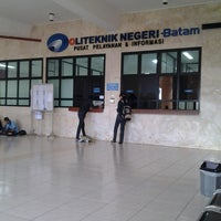 Photo taken at Politeknik Negeri Batam by Rahmawati M. on 7/8/2013