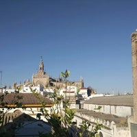 Photo taken at La Banda Rooftop Hostel by Tony C. on 7/7/2014
