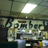 Photo taken at The Bomber Restaurant by Owl _. on 4/4/2013