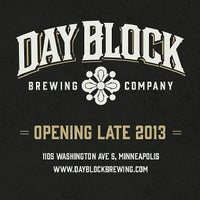 Photo taken at Day Block Brewing Company by MN Beer Activists on 7/26/2013