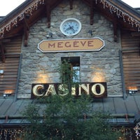Photo taken at Casino Barrière de Megève by Eric on 8/7/2016