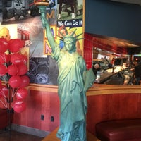Photo taken at Red Robin Gourmet Burgers by Raymond B. on 7/26/2016