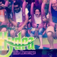 Photo taken at Hydra: The Revenge by Brian L. on 8/23/2013