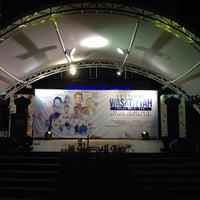 Photo taken at Dataran Panggung Seni UKM by jiem y. on 5/15/2016