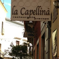 Photo taken at La Capellina by Diana L. on 12/30/2012