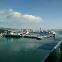Photo taken at Terminal B del Port de Barcelona by Женя Л. on 5/21/2017