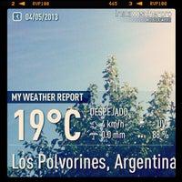 Photo taken at Los Polvorines by nicolas e. on 5/4/2013