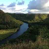 Photo taken at Wailua River by Kat H. on 8/14/2013