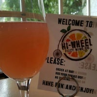 Photo taken at Hi-Wheel Fizzy Wine Co. by Marissa A. on 1/7/2017