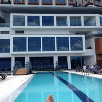 Photo taken at Radisson Blu Hotel & Spa Istanbul Tuzla by Kemal K. on 6/24/2014