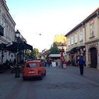 Photo taken at Magistratski trg by Kemal K. on 5/6/2014