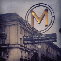 Métro Invalides [8,13] - Invalides - Quai d\'Orsay