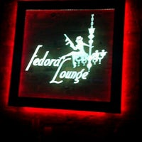 Photo taken at Fedora Lounge by Leon D. on 1/13/2013
